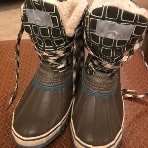Polar Fleece Thermolite winter boots size 7